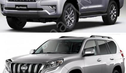Toyota Land Cruiser Prado 2018 rò rỉ toàn bộ diện mạo