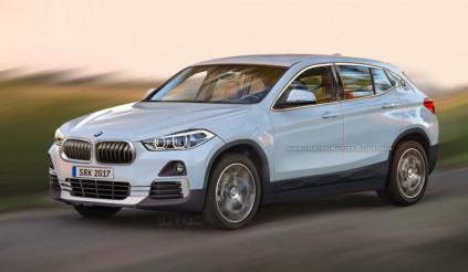 Hình ảnh tuyệt đẹp của crossover BMW X2 2017