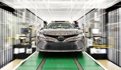 Toyota là nhà sản xuất ô tô nổi tiếng nhất thế giới