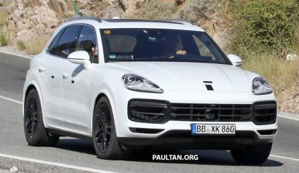 Bắt gặp Porsche Cayenne thế hệ mới