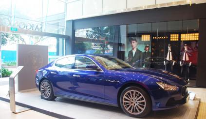 Maserati Ghibli trưng bày tại Saigon Centre