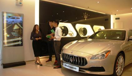 Mua Maserati Levante với lãi suất 0%