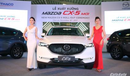 Những nâng cấp mới trên Mazda CX-5 2018 so với thế hệ cũ