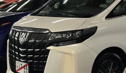 Toyota Alphard facelift lộ diện trước ngày ra mắt
