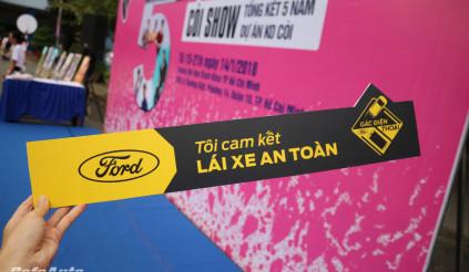 Ford Việt Nam đánh dấu 5 năm chiến dịch k0 Còi
