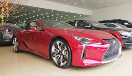 Lexus LC500 được rao bán với giá bán gần 10 tỷ đồng tại Hà Nội