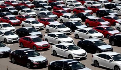 Cảnh 'nội khó xuất, ngoại khó nhập' của thị trường ôtô
