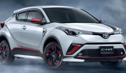 Toyota C-HR 2018 chuẩn bị trình làng tại Thái Lan với giá từ 716 triệu đồng