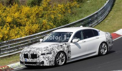 BMW 7-Series xuất hiện trên đường chạy thử hé lộ điều gì?