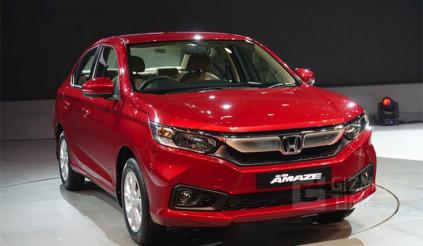 Chi tiết xe giá rẻ Honda Amaze giá 180 triệu đồng tại Ấn Độ