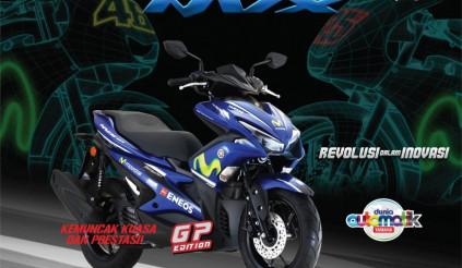 Yamaha NVX 155 GP Edition 2018 ra mắt với thiết kế cực chất, giá bán từ 60 triệu đồng