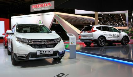 Honda CR-V 2019 phiên bản hybrid chính thức trình làng