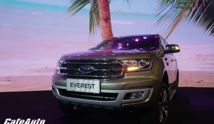 Giá xe Ford Ranger và Everest mới nhất tháng 11/2018