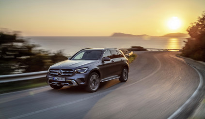 Mercedes-Benz sắp ra mắt GLC Coupe 2020