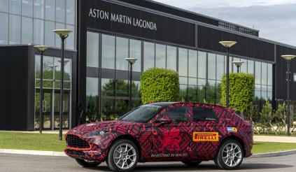 Aston Martin DBX có thể là chiếc SUV đầu tiên sở hữu tính năng độc đáo này