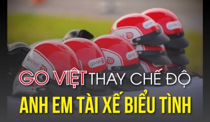 Go Việt thay chế độ, anh em tài xế biểu tình