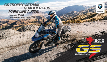 Lần đầu tiên, BMW Motorrad tổ chức vòng loại GS Trophy tại Việt Nam