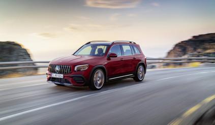GLB 35 – Chiếc SUV cỡ nhỏ 7 chỗ mạnh hơn 300 mã lực của Mercedes-Benz