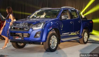 Isuzu D-Max 2019 tại Malaysia giá từ 443 triệu đồng: Công suất tăng, tiêu hao nhiên liệu giảm