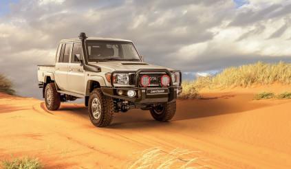 Toyota Land Cruiser thế hệ J70 - đó mới gọi là off-road đỉnh cao