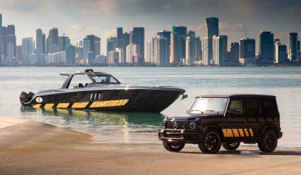 Mercedes-AMG tung ra du thuyền thể thao 2.700 mã lực