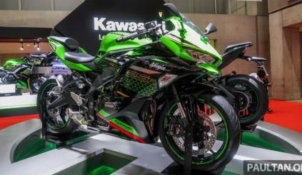 Sportbike Kawasaki ZX-25R 2020 sắp ra mắt khiến Honda CBR250RR lo sốt vó