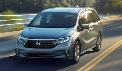Honda Odyssey 2021 trình làng