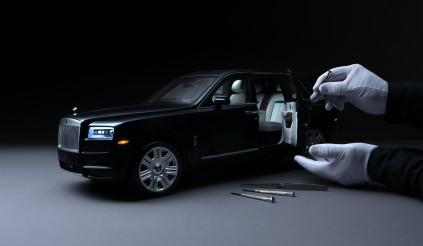 Bản thu nhỏ chính xác từng ly của Rolls-Royce Cullinan