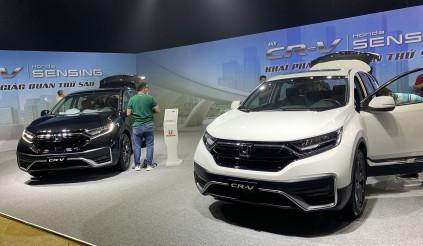 Honda Việt Nam chính thức ra mắt CR-V lắp ráp khởi điểm từ gần 1 tỷ