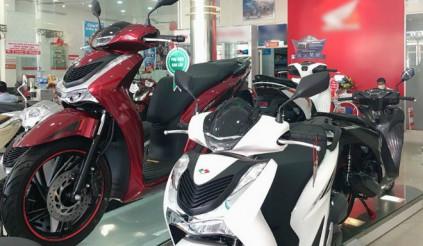 Cuối tháng 10 giá xe Honda SH chênh lệch tới 7.5 triệu đồng