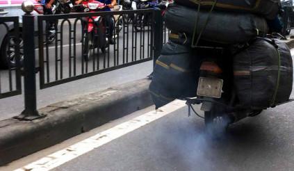 Làm quen với kiểm tra khí thải xe máy