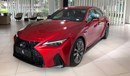 Lexus IS sắp về Việt Nam, cạnh tranh Audi A4, BMW 3-Series và Mercedes C-Class