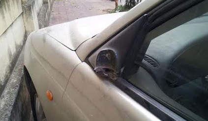 Cách bảo vệ gương ô tô khỏi nạn đạo chích