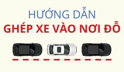 Infographic: Hướng dẫn ghép xe vào nơi đỗ
