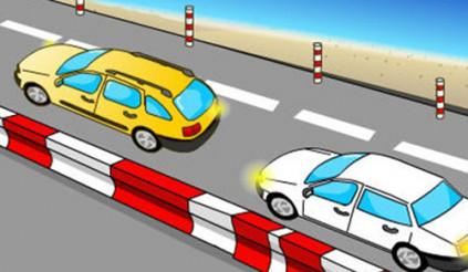 Không cho phương tiện khác vượt lên có phạm luật?