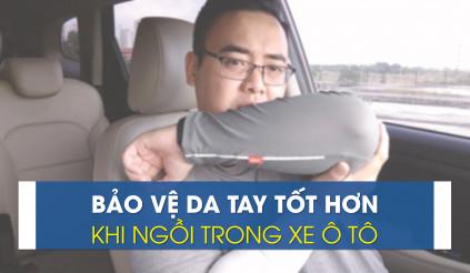 Bảo vệ da tay tốt hơn khi ngồi trong xe ô tô
