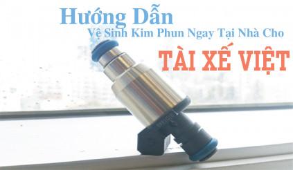 Hướng dẫn vệ sinh kim phun ngay tại nhà cho tài xế Việt